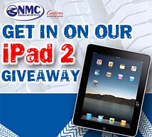 NMC iPad promotion