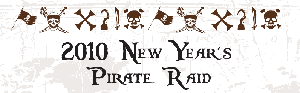 New Year's Pirate Raid