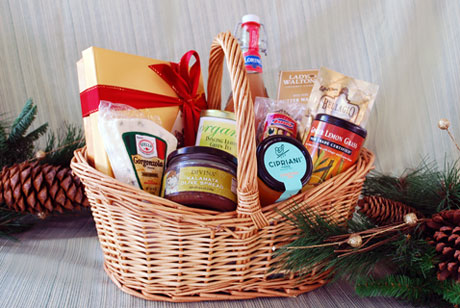 Balduccino Fine Foods offers a wide variety of creative baskets for thoughtful gift ideas and special gifts for friends and business associates.