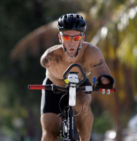 American triathlete Hector Picard