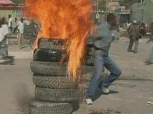 Haitians protest elections