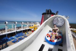 Aqua Duck Water Coaster On The Disney Dream