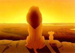 Scene from Disney's - The Lion King