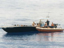 File photo of Cuban fishing boat