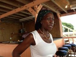 Caribbean Plate: Edith's Pizza in Bimini