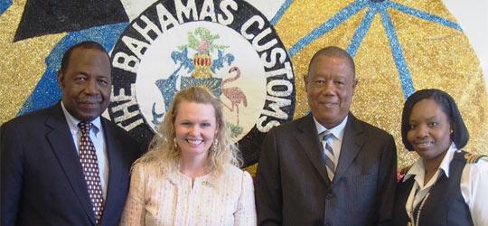 U.S. Embassy Donates Computers to The Bahamas Customs