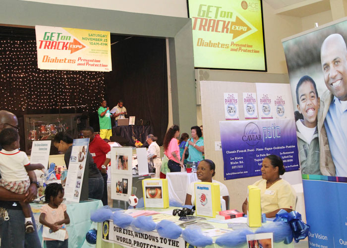 Get On Track Expo Attracts Hundreds