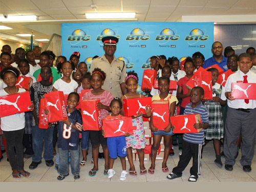 BTC and Puma Donate To Inner City Children