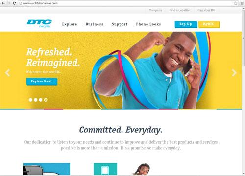 BTC Unveils New Website