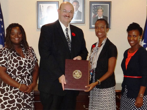 Financial Services Official Participates in U.S. Professional Exchange