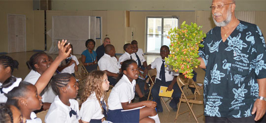 Students Encouraged To Be Stewards Of The Environment