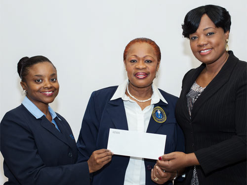 Bank Matches Staff Donation To The Needy