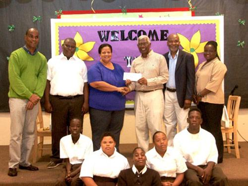 West Rotary Club Donates to Stapledon School