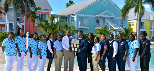 Sandyport Beaches Resort Wins Top Award