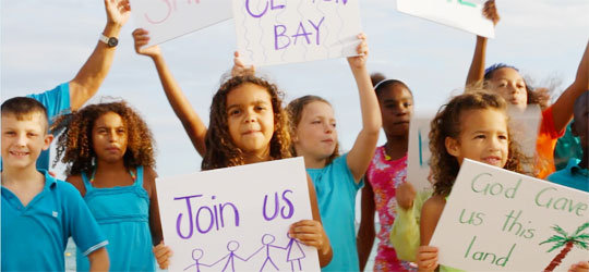 Children Join KB In New 'Save The Bays' Video