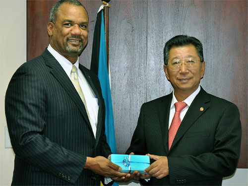 New Chinese Ambassador Visits Minister of Education, Science and Technology