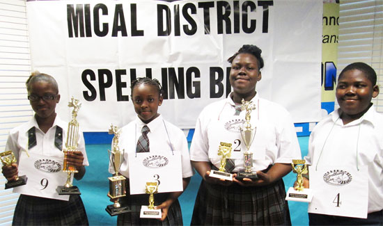 Acklins Central High School Student Wins MICAL Spelling Bee