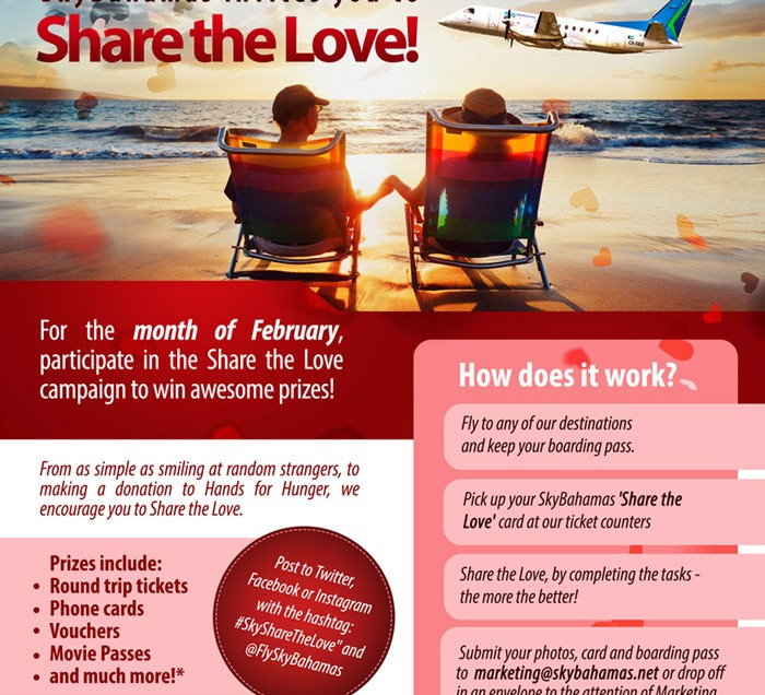 SkyBahamas Launches 'Share The Love' Campaign
