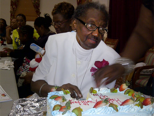 Stephanie Francis Celebrates 80th Birthday At St. Matthew's Anglican Church