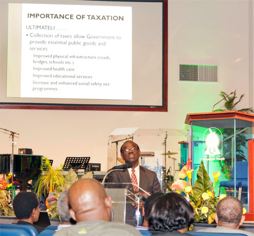 Lightbourne: IMF Did Not Force The Bahamas into VAT