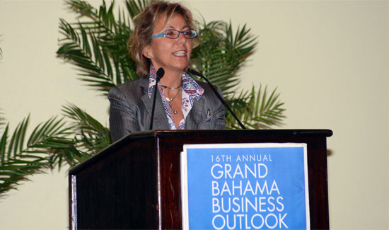 GBPA Vice Chairman at Grand Bahama Business Outlook