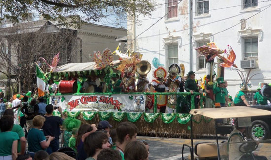 Junkanoo to Showcase at St. Patrick's Day Parade Savannah, Georgia