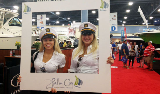 Palm Cay Revs Up Excitement at Miami Boat Show