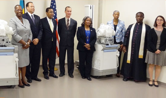 Embassy Donates Portable X-Ray Machines To Health Ministry