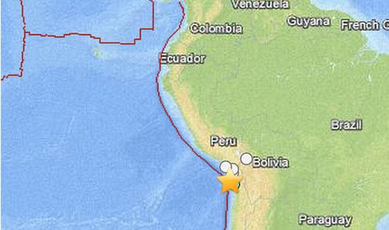 8.2 Mag Quake Shakes Chile