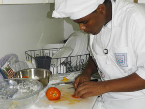Family Island Students Win Young Chef Competition