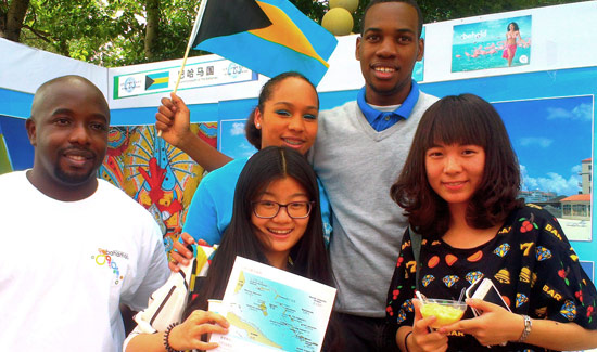 Bahamaren CEO Joins Students In Educating Chinese on the Bahamas