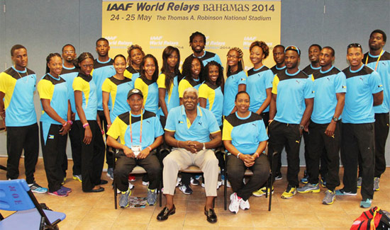 Team Bahamas Prepares To Represent At The IAAF World Relays