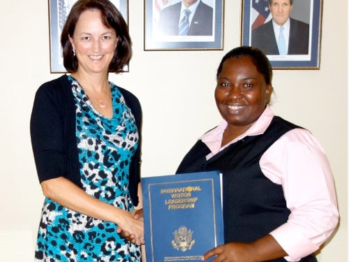 Bahamas National Trust Officer Participates in U.S. State Department Exchange