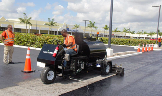 Bahamas Striping Now A Full Road Maintenance Service Company