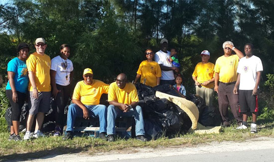 KGBC Continues To Spread Clean Environment Message With Island-Wide Clean Up