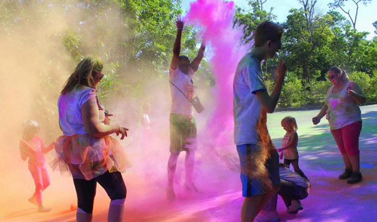 242 Colour Run Returns To Freeport