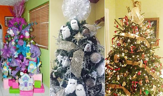 'Holiday Delight' Wins Christmas Trim A Tree Event