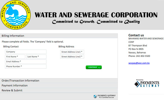 water-sewerage-online-payment