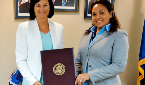 Bahamian Forestry Officer Participates in U.S. State Department