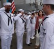 U.S. Charge d'Affaires and USS Roosevelt Host Reception on Grand Bahama