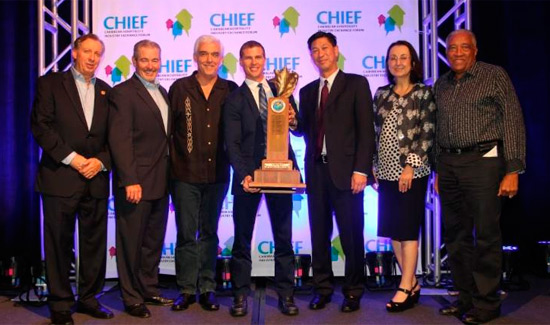 Sandals Resorts International CEO, Named 'Caribbean Hotelier Of The Year'