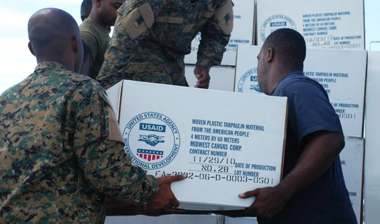 The U.S. Embassy Supports Hurricane Joaquin Relief Effort
