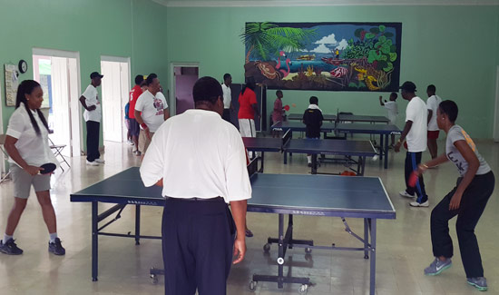 Club 1600 Serves Up Fun With Table Tennis Tourney
