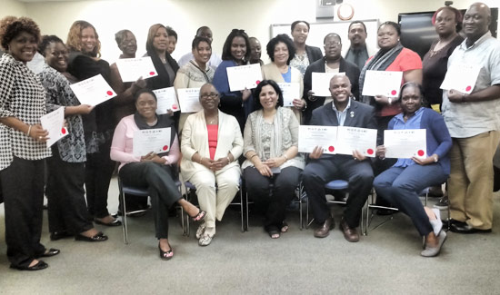 U.S. Embassy Trains First Group of Internationally-Certified Addiction Counselors in the Caribbean