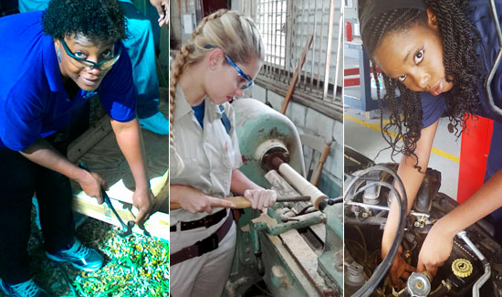 Female Students Making Waves In Technical Education