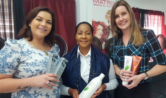 Leading Wholesaler Donates To Beauty Trade Students