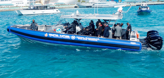 Formal Handover of Two New SafeBoats for the Police Force