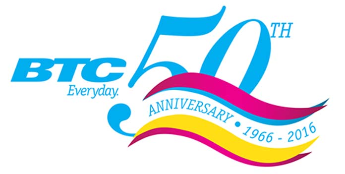 BTC Celebrates 50 years as #1 for Communications in the Bahamas!