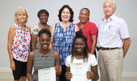 Grand Bahama Performing Arts Society Awards Two Student Camp Scholarships