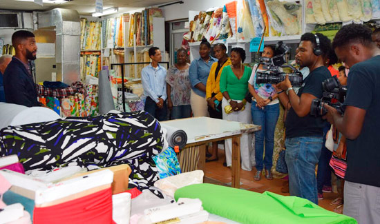 Fashion Students Gear Up For Miss Bahamas Contest